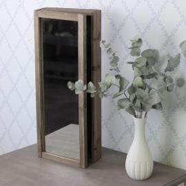 Nøkkelskap /speil 50 cm , hemmetshjarta.no