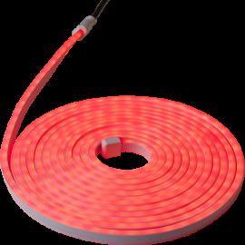 Lysslange Neoled Utendørs Rød 360 lys 600cm , hemmetshjarta.no
