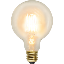 LED-Lampe E27 Soft Glow G95 , hemmetshjarta.no