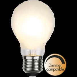 LED-Lampe E27 Ø60 Dim lm325/30w Frostet , hemmetshjarta.no