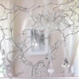Glassprisme 4x6,3cm 6-pakning , hemmetshjarta.no