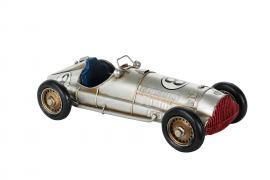 Dekoration Racerbil 28 cm , hemmetshjarta.no