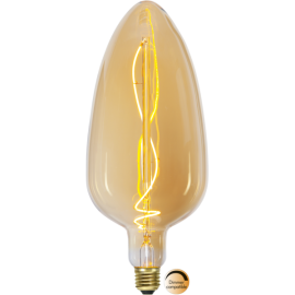 LED-Lampe E27 Industrial Vintage C125 Dim , hemmetshjarta.no
