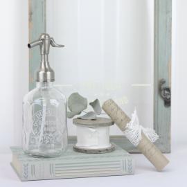 Sifonflaske / såpepumpe med trykk 16,5 cm , hemmetshjarta.no