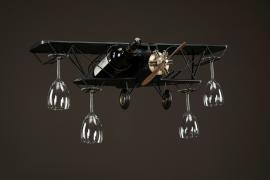 Fly glass/flaskeholder Metall 75x23x25cm , hemmetshjarta.no
