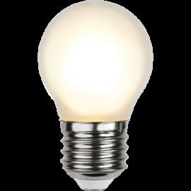 LED-Lampe E27 Ø45 lm150/16w Frostet , hemmetshjarta.no