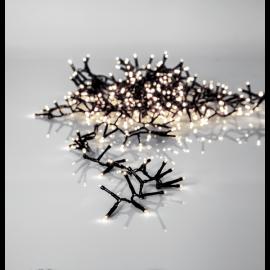 Lyslenke Utendørs EL Crispy Ice White Hvit 800 Lys 1600cm , hemmetshjarta.no