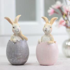 Kanin i egg 2-pack , hemmetshjarta.no