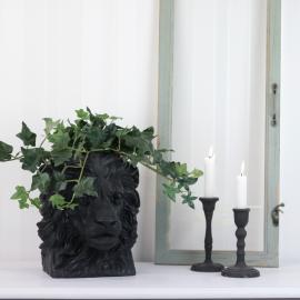 Krukke Løve Svart/Brun 26,5 cm , hemmetshjarta.no