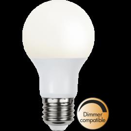 LED-Lampe E27 Ø60 Dim lm470/40w Frostet Basic , hemmetshjarta.no