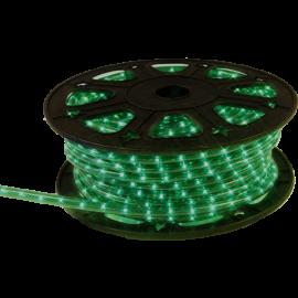 Lysslange Ropelight Micro Reel Utendørs Grønn 1620 lys 4500cm , hemmetshjarta.no