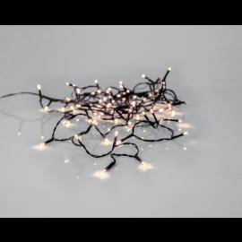 Lyslenke Utendørs EL Crispy Ice White Hvit 80 Lys 560cm , hemmetshjarta.no