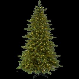 XX Juletre med LED Larvik EL Utendørs Varm Hvit 600 Lys 136x210cm , hemmetshjarta.no