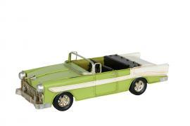 Dekorasjon bil Bel Air Green Metall 25x10x7,5cm , hemmetshjarta.no