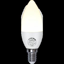 LED-lampe E14 C37 Opaque Basic , hemmetshjarta.no