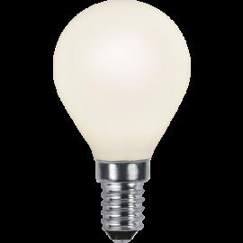 LED-Lampe E14 Ø45 lm250/25w Frostet , hemmetshjarta.no
