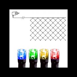 Lysnett Utendørs EL Serie LED Multi 90 Lys 200cm , hemmetshjarta.no