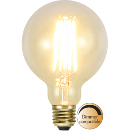 LED-Lampe E27 Soft Glow G95 Dim , hemmetshjarta.no