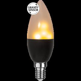 LED-Lampe E14 Flame C37 , hemmetshjarta.no
