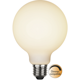 LED-Lampe E27 Double Coating Ø95 lm400/35w Frostet , hemmetshjarta.no