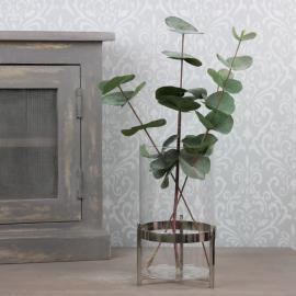 Glasslykt Luksus / vase 22 cm , hemmetshjarta.no