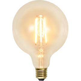 LED-Lampe E27 Soft Glow G125 , hemmetshjarta.no