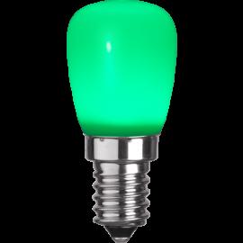 LED-Lampe E14 ST26 Outdoor Lighting ST26 Grønn , hemmetshjarta.no