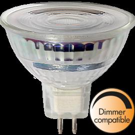 LED-Lampe GU5,3 MR16 Spotlight Glass Dim , hemmetshjarta.no