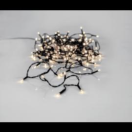 Lyslenke Utendørs EL Crispy Ice White Hvit 180 Lys 1260cm , hemmetshjarta.no