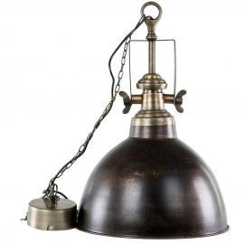 Lampe/Baron Antik Brun , hemmetshjarta.no