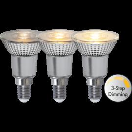 LED-Lampe E14 PAR16 Spotlight Glass Dim 3-step , hemmetshjarta.no