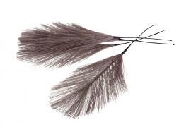 Syntetisk fjær / tråd tråd 17cm 12stk , hemmetshjarta.no