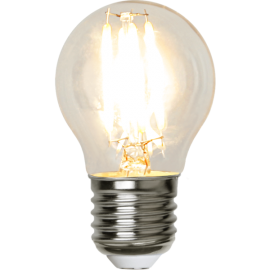 LED-Lampe E27 Low Voltage Ø45 lm250/25w 12-24 VAC Clear , hemmetshjarta.no