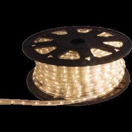 XX Lysslange Ropelight Flex LED Reel Utendørs Varm Hvit 1620 lys 4500cm , hemmetshjarta.no