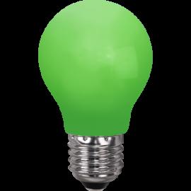 LED-Lampe E27 Outdoor Lighting A55 Grønn , hemmetshjarta.no