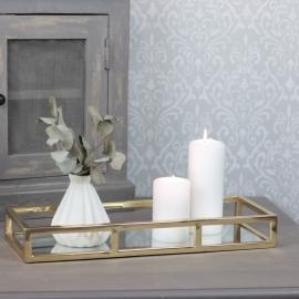 Speilfat Luxury 40 cm - gull , hemmetshjarta.no