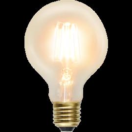 LED-Lampe E27 Soft Glow G80 , hemmetshjarta.no