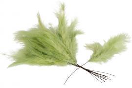Fjær/Tråd Vippa Lime 12 stk , hemmetshjarta.no