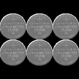 Batteri CR2032 6-pack , hemmetshjarta.no
