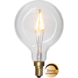 LED-Lampe E14 Soft Glow G80 Dim , hemmetshjarta.no