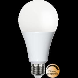LED-Lampe E27 High Lumen Ø80 Dim lm2200/136w Frostet , hemmetshjarta.no