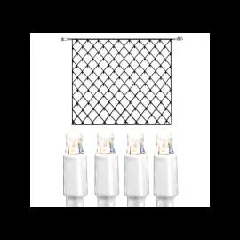 Utendørsdekorasjon System LED EL Lysnett Extra Kallvit 192 lys 300x300cm , hemmetshjarta.no
