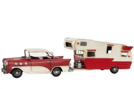 Dekorasjon Bil & Campingvogn Chevy Metall 41 x 10 x 11 cm , hemmetshjarta.no