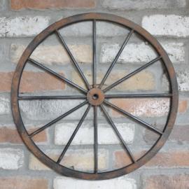 Veggdekorasjon Hjul Metall 47 cm , hemmetshjarta.no