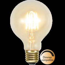 LED-Lampe E27 Soft Glow G80 Dim , hemmetshjarta.no