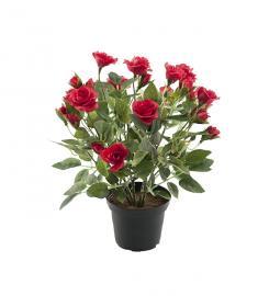 Kunstig Rose 30 cm , hemmetshjarta.no