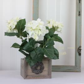 Kunstig Hortensia 30 cm , hemmetshjarta.no