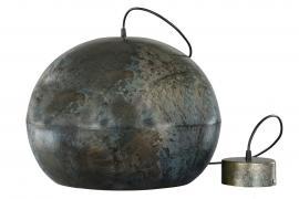 Lampe Metal Globe Onyx 36x45cm , hemmetshjarta.no
