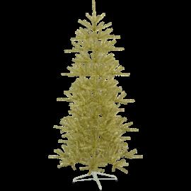 XX Juletre Sparkle Gull Utendørs 113x210cm , hemmetshjarta.no