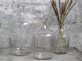 Flacon Glass H38 / Ø21 cm klar 1 st , hemmetshjarta.no